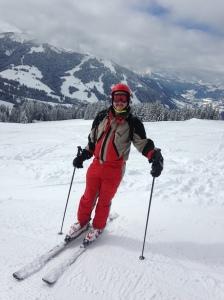Chris ski body